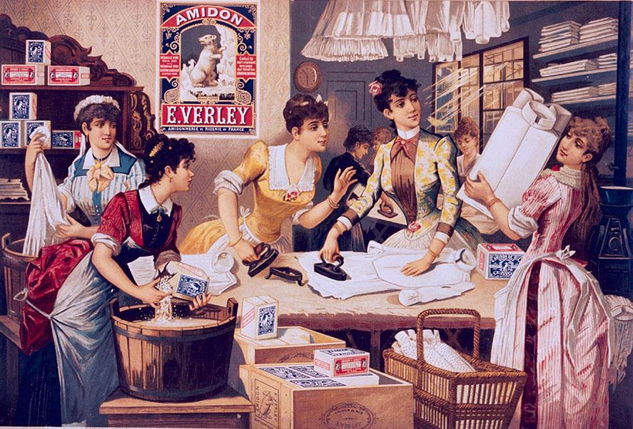 Las planchadoras, Arte y Oficio